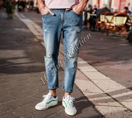 Mens Ankle Length Jeans
