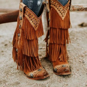 Women Cowboy Boots Manufacturers from India