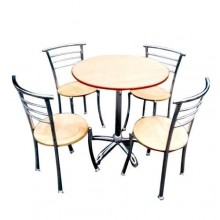 MS Restaurant Table & Chair