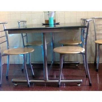 SS Restaurant Table & Chair